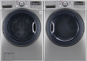 LG Front Loaders Washer and Dryer for $1699