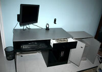 Computer Desk and the unit