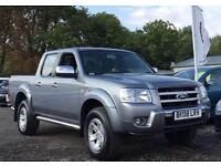 2008 Ford Ranger 2.5 TDCi XLT Thunder Double Cab Crewcab Pick up 4x4 4dr