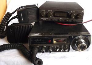 2 Vintage 23 Channel CB'S Realistic TRC-483 & Shark $25.00 Both
