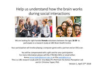 Looking for Volunteers at Brain Health Centre
