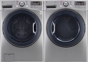 LG front loader washer & dryer set $1699!! as Waterlo