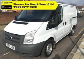 Ford Transit 2.2TDCi Duratorq ( 85PS ) 260S ( Low Roof ) 2009.25M 260 SWBFord Tr