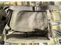 Silver cross vintage beige changing bag