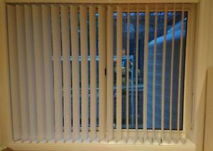 Vertical Blinds for 3 Windows & 2 Sliding doors