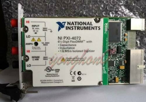 1PCS USED National Instruments NI PXI-4072 tested