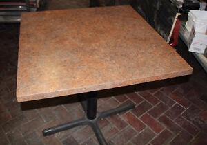 High quality restaurant dining tables, various sizes