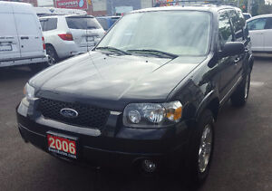 2006 Ford Escape Limited SUV, Crossover 2 yrs war