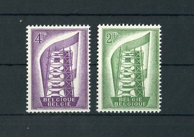 BELGIEN NR 1043 1044 EUROPA CEPT 1956 ME 18 117461