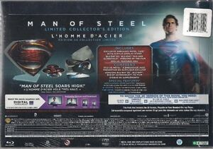 Man of Steel Limited Edition Steelbook New and Factory Sealed Kitchener / Waterloo Kitchener Area image 2