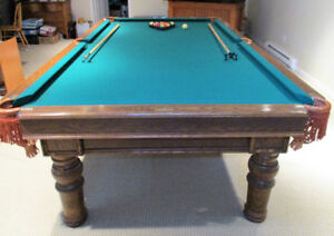FULL SIZE REGULATION POOL TABLE