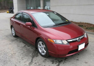2006 Honda Civic EX Sedan Sunroof