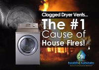 Don't Let Your Dryer Cause A Fire At Home Special 49.00 + TX