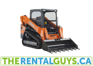 Mississauga Compact Track Loader Rentals - Free Delivery