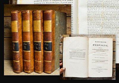 1808 Spain History Adams Hereford Histoire d'Espagne