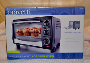 Bravetti Large Toaster Oven, Brand New - $50 (or best offer!)