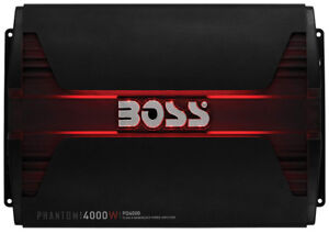 **New**BOSS AUDIO PD4000 Phantom 4000-Watt Monoblock amplifier