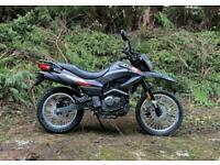 Keeway TX 125cc Enduro Dirt Bike Scrambler Crosser Trails supermoto motorcycl...