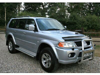 2007 MITSUBISHI SHOGUN SPORT 2.5TDI TROJAN DIESEL 5DR MANUAL ESTATE LOW MILEAGE
