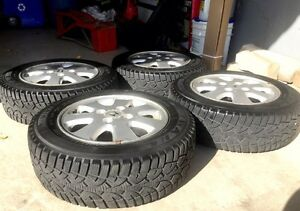 "15"" WANLI Winter Challenger Tires on Rims  Cambridge Kitchener Area image 1"