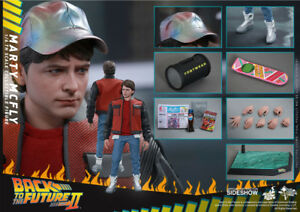 BACK TO THE FUTURE PART 2 Hot Toys 1:6 Marty McFly