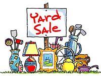 Yard Sale due to Emigration