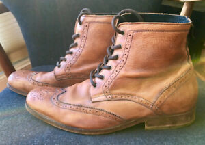 Gravity Pope Men's Leather Boots size 10.5 - 11