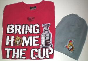 Ottawa Senators Bring Home the Cup 07' T Shirt and Toque