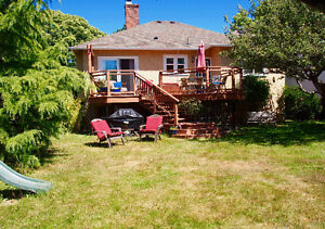 Beautiful Furnished Oak Bay Family Home