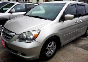 2005 Honda Odyssey EX-L 8-passenger! CD Changer! Certified!