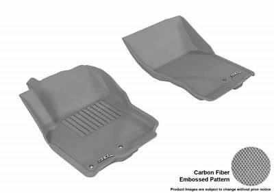 3D MAXpider 05-18 Fits Nissan Frontier 1st Row Embossed Pattern Floor Mat
