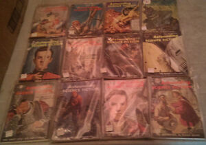 Astounding Science Fiction; Complete Year Set 1959 (12 issues)