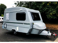 Freedom Jetstream First Class FLARE in Silver with FULL AWNING & EXTRAS