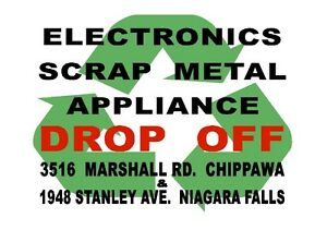E-WASTE AND SCRAP METAL DROP OFF