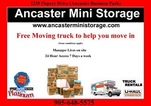 24 hour storage available Ancaster