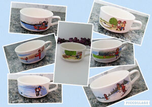 Campbell's Kids Vintage Soup Bowl Collection