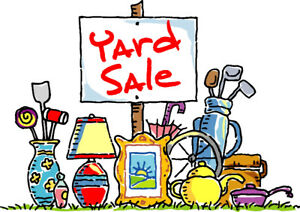 Yard sale - June 11     5:30-8:00