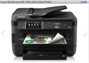 EPSON 7620 WORK FORCE all in one printer, fax, scanner, etc