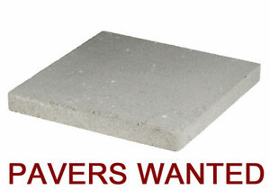 ---- OLD PAVERS WANTED ----