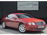 2008 Bentley Continental GT 6.0 W12 Umbrian Red + Portland +Serviced by Bentley