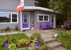 Cottage for rent - private lake - just 90 minutes NW of Waterloo