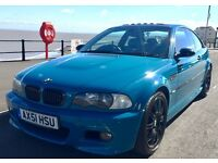 BMW M3 Manual Laguna Seca Blue