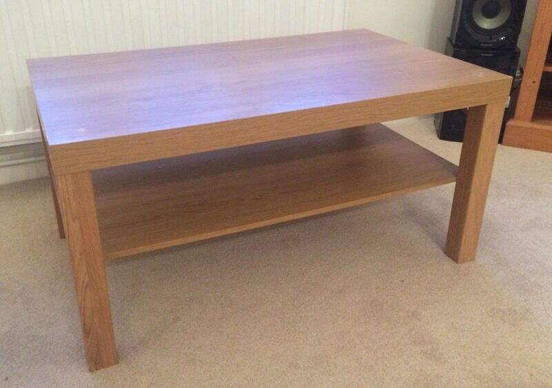 Ikea Lack Coffee Table Oak Effect