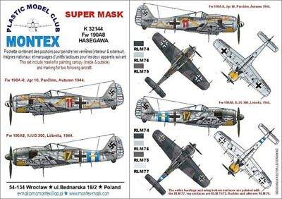 Montex Mini Mask 1:32 P-51 D Mustang for Trumpeter Kit Spraying Stencil #SM32088