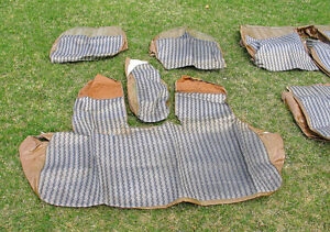 VINTAGE SEAT COVERS FOR 1963-1964 CADILLACS - 'PERIOD CORRECT'