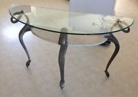 GLASS/ MARBLE TABLE