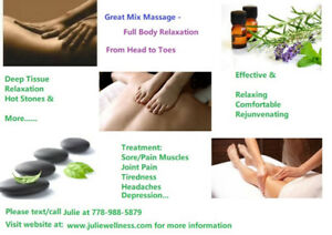 Lower Back Pain, Sore Neck/Shoulders? Please try my massage...