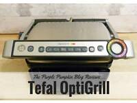 Tefal optigrill and toaster