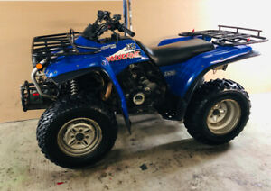 Vtt Yamaha Wolverine 350 4x4 En Excellente Condition