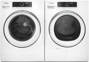 "Whirlpool WFW5090GW 24"" Compact Washer and Dryer"